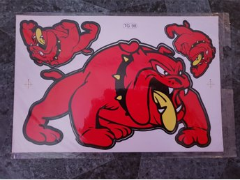 Bulldogs. Stickers