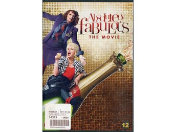 Absolutely Fabulous The Movie 2016 DVD (Hyr)