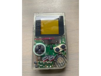 Game Boy GB: Transparent DMG Konsol