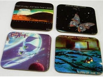 BARCLAY JAMES HARVEST COASTERS - Set of 4