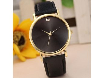 Fashion Womens Retro Design Leather Band Analog Alloy Quartz Wrist Watch Trendy - Gushi - Fashion Womens Retro Design Leather Band Analog Alloy Quartz Wrist Watch Trendy - Gushi