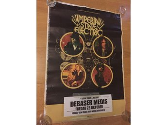 Imperial State Electric / poster / Debaser 23/10, 2015   Hellacopters