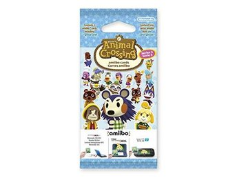 Animal Crossing: Happy Home Designer amiibo Series 3 Card Pack - Nintendo 3DS
