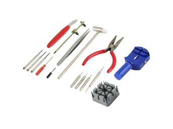 16 Pcs Watchmaker Tool Kit Set Watch Repair Back Case Opener Remover Spring Pin