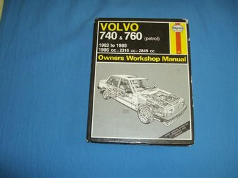 HAYNES Owners Workshop Manual Volvo 740 & 760 (bensin), 1982 - 1989
