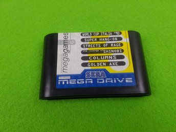Mega Games 6  Golden Axe , Streets of Rage, Shinobi m.m Sega Megadrive