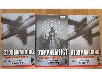 3st. Stormvarning o Topphemligt av Anthony Horowitz - Solna - 3st. Stormvarning o Topphemligt av Anthony Horowitz - Solna