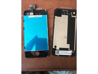 Lcd och baksida iPhone 4s - Vänersborg - Lcd och baksida iPhone 4s - Vänersborg