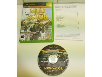 XBOX spelet ** Men Of Valor ** ** KOMPLETT **