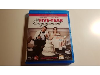 Blu-ray The five-year engagement med Jason Segel
