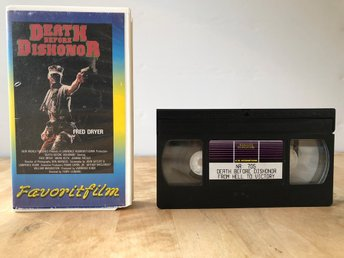 VHS 2 filmer Death before dishonor - From hell to victory - Favoritfilm
