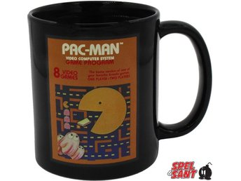 Pac-Man Cartridge Heat Changing Mug