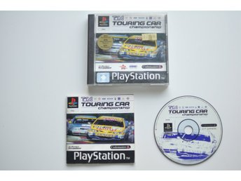 Touring Car Championship till Playstation 1 (PS1, PSone)