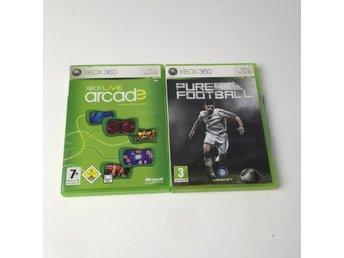 Javascript är inaktiverat. - Stockholm - Xbox - spel, Modell: Pure Football, Live ArcadeVaran är i normalt begagnat skick. Skick: Varan säljs i befintligt skick och endast det som syns på bilderna ingår om ej annat anges. Vi värderar samtliga varor och ger dom en beskrivning av  - Stockholm
