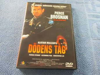 DEATH TRAIN DÖDENS TÅG 1993 DVD ALISTAR MACLEAN SV TEXT