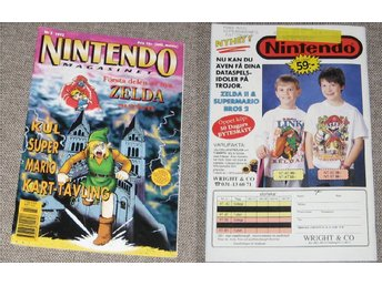 Nintendo magasinet Nr 3 1993...
