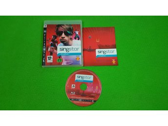 Singstar KOMPLETT Ps3 Playstation 3