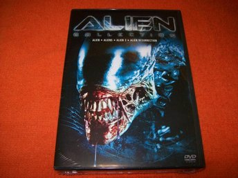 ALIEN COLLECTION NY INPLASTAD 4 FILMER