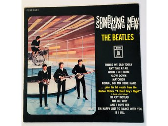 THE BEATLES Something new Germany