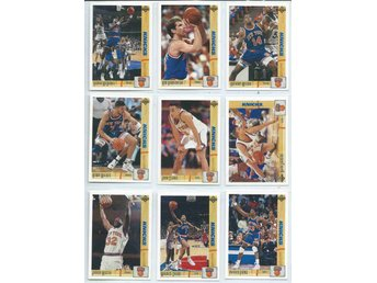 9 ST BASKET BILDER - KNICKS - SET NR 1