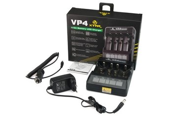 XTAR VP4 IMR Lithium battery charger NK023
