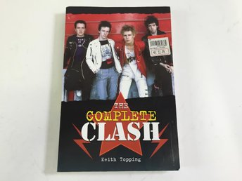 Keith Topping, The Complete Clash, Bok, Engelsk text