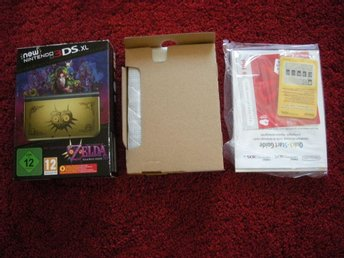3DS New 3DS Majoras Mask Edition Gold Limited