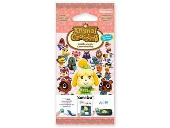 Animal Crossing: Happy Home Designer amiibo Series 4 Card Pack - Nintendo 3DS