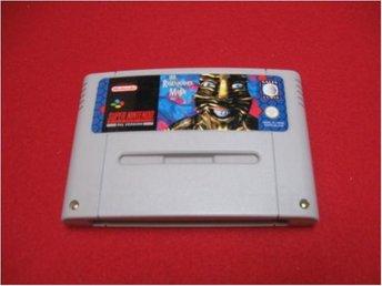 LAWNMOVERMAN till Super Nintendo SNES - Blomstermåla - LAWNMOVERMAN till Super Nintendo SNES - Blomstermåla