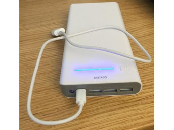 Power Bank - Deltaco 16000 mAh - HELT NY!