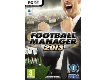 FOOTBALL MANAGER 2013 PC SPEL - Jonsred - FOOTBALL MANAGER 2013 PC SPEL - Jonsred