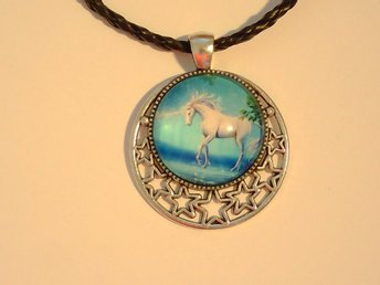 Enhörning Halsband / Unicorn Necklace