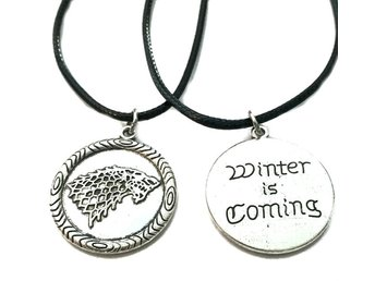 Choker Winter is coming House Stark Game Of Thrones Rem