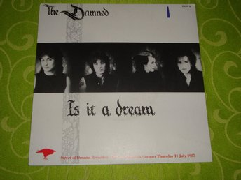 "DAMNED THE - IS IT A DREAM 7"" 1985"