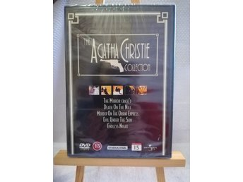 The Agatha Christie Collection - 5 filmer i DVD-BOX - Ny & inplastad