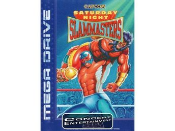 SATURDAY NIGHT SLAM MASTERS (kassett) till Sega Mega Drive