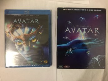 James Camerons Avatar Extended Collectors Edition (6 Disc) + Avatar 3D oöppnad!