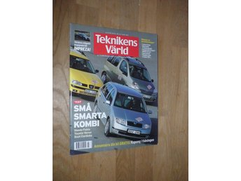 Teknikens Värld nr 5, 2001, Mercedes C Lotus Skoda Seat BMW