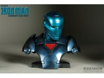 Ironman Stelth legendary bust sideshow / Hot toys