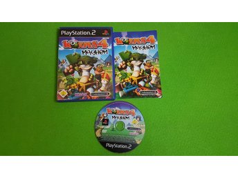 Worms 4 Mayhem KOMPLETT PS2 Playstation 2