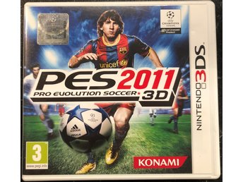 PRO Evolution Soccer 2011 3D Edition