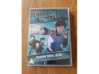 The legend of Korra: Book one Air (DVD, engelska, jul)