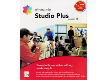 PINNACLE Studio 10, videoredigering