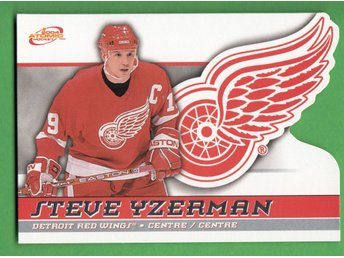 2003-04 McDonald's Pacific Atomic #19 Steve Yzerman Detroit Red Wings
