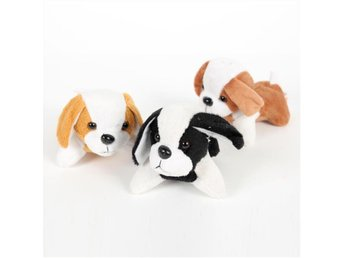NY! 3Pcs Fleece Dog för småbarn 10CM (t13)