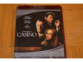 Casino ( Robert DeNiro Joe Pesci Sharon Stone ) HD DVD Inplastad
