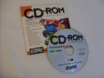 CD ROM & Multimedia 4 st Svenska Mac CD ROM skivor
