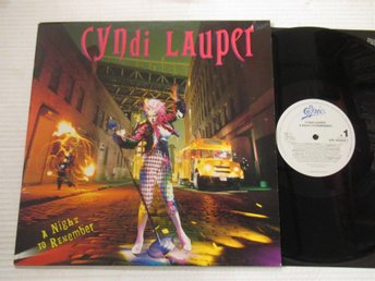 "Cyndi Lauper ""A Night To Remember"""