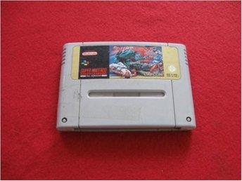 STREET FIGHTER 2 II till Super Nintendo SNES - Blomstermåla - STREET FIGHTER 2 II till Super Nintendo SNES - Blomstermåla