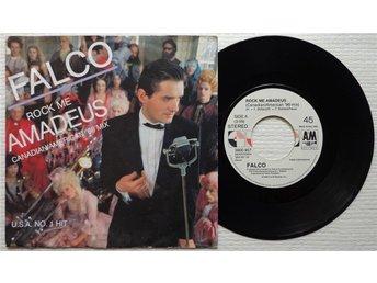 "FALCO 'Rock Me Amadeus' 1985 Dutch 7"" - Bröndby - FALCO 'Rock Me Amadeus' 1985 Dutch 7"" - Bröndby"